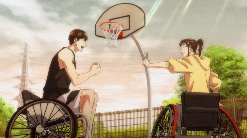 車椅子 バスケ アニメ