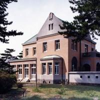 工事前の田尻歴史館の外観(田尻町提供)