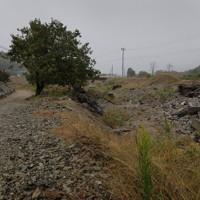 台風19号の豪雨で、阿武隈川の支流、五福谷川が氾濫し土砂や岩が流れこんだ集落=宮城県丸森町で2020年10月11日、和田大典撮影