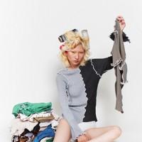 第38回毎日ファッション大賞新人賞・資生堂奨励賞を受賞した「kotohayokozawa(コトハヨコザワ)」デザイナーの横澤琴葉さんの作品=本人提供