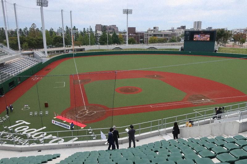 野球 場 広 さ