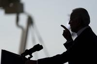 Democratic presidential candidate former Vice President Joe Biden speaks at Miramar Regional Park in Miramar, Fla., Tuesday Oct. 13, 2020. (AP Photo/Carolyn Kaster)