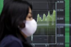 海外勢の資金が逃げている日本株の天井は近い(Bloomberg)
