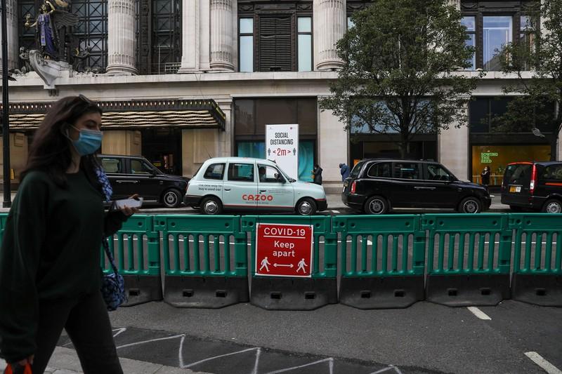 英国は新型コロナの死者数が欧州で最も多い(Bloomberg)