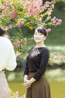 Princess Mako is seen at the Akasaka Estate in Tokyo's Minato Ward, on Oct. 6, 2020, ahead of her 29th birthday. (Photo courtesy of the Imperial Household Agency)