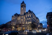 In this Jan. 23, 2019 file photo, the Trump International Hotel is seen in Washington. (AP Photo/Alex Brandon)