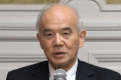 日本学術会議元会長の大西隆・東京大名誉教授=東京都千代田区で2020年10月15日午後1時5分、竹内幹撮影