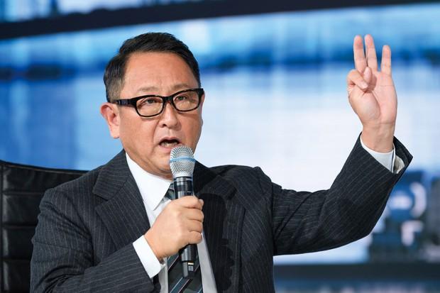 トヨタ自動車の豊田章男社長 (Bloomberg)