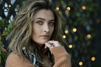 Paris Jackson poses for a portrait in Beverly Hills, California, on Oct. 27, 2020, to promote her debut solo album