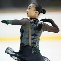 【西日本フィギュアスケート選手権第2日】女子フリーで優勝した坂本花織=京都アクアリーナで2020年10月31日(代表撮影)
