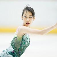 【西日本フィギュアスケート選手権第2日】女子フリーで演技をする三原舞依=京都アクアリーナで2020年10月31日(代表撮影)