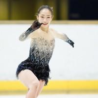 【西日本フィギュアスケート選手権第2日】女子フリーで演技をする新田谷凜=京都アクアリーナで2020年10月31日(代表撮影)