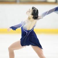 【西日本フィギュアスケート選手権第2日】女子フリーで演技をする河辺愛菜=京都アクアリーナで2020年10月31日(代表撮影)