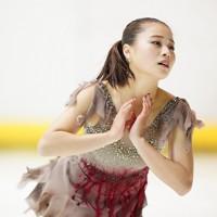 【西日本フィギュアスケート選手権第2日】女子フリーで演技をする白岩優奈=京都アクアリーナで2020年10月31日(代表撮影)