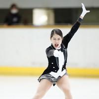 【西日本フィギュアスケート選手権第2日】女子フリーで演技をする横井ゆは菜=京都アクアリーナで2020年10月31日(代表撮影)