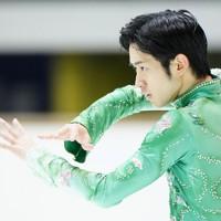 【西日本フィギュアスケート選手権第2日】男子フリー、優勝した山本草太=京都アクアリーナで2020年10月31日(代表撮影)