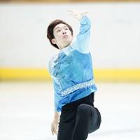 【西日本フィギュアスケート選手権第2日】男子フリー、演技をする須本光希=京都アクアリーナで2020年10月31日(代表撮影)