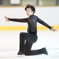 【西日本フィギュアスケートジュニア選手権第2日】ジュニア男子SP、演技をする木科雄登=京都アクアリーナで2020年10月31日(代表撮影)