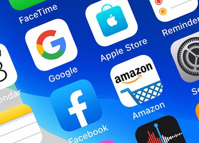 「GAFA」と称される米IT大手4社のアプリ