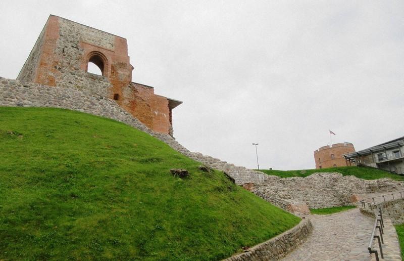 リトアニア大公の居城だったゲディミナス城(写真は筆者撮影)