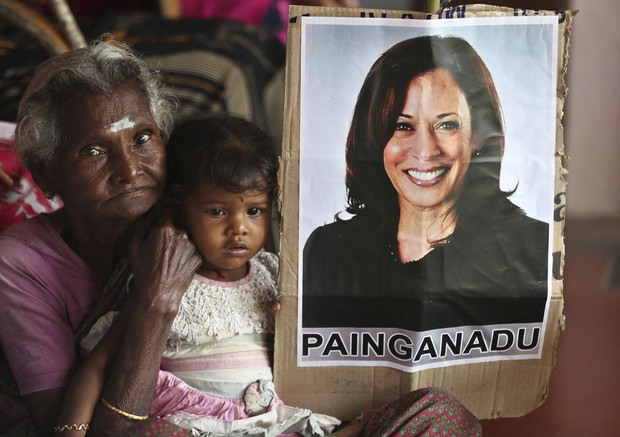 Indians In Kamala Harris Ancestral Home Wake Up To Her Victory The Mainichi