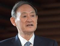 Prime Minister Yoshihide Suga (Mainichi/Kan Takeuchi)