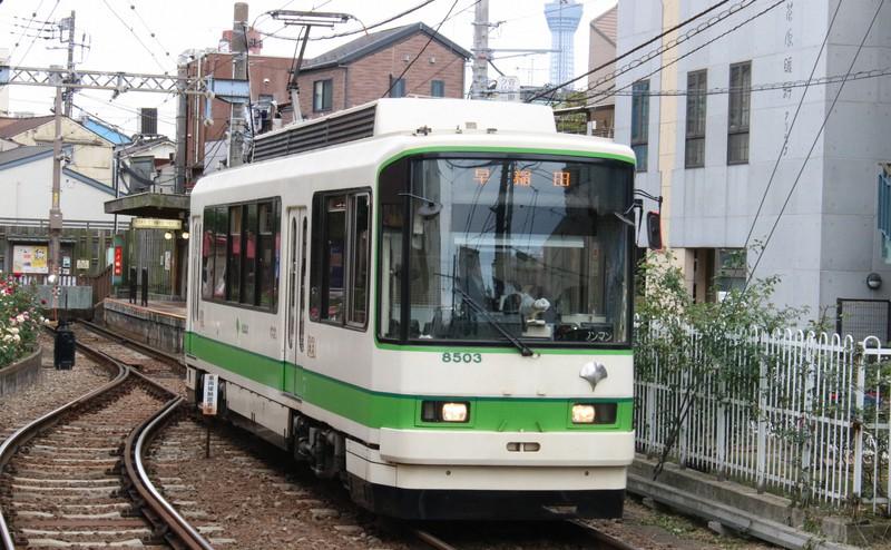 デジタルチケット「東京デジタルパス」の技術検証が都電荒川線で行われた ※技術検証時の写真ではありません