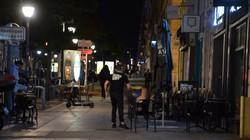 外出制限措置前の南仏マルセイユ。午後9時以降は外出禁止のため人影はまばらだ=2020年10月27日、横山三加子撮影