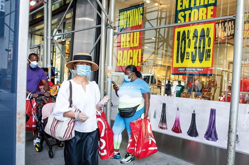 追加策がとぎれ、個人消費が低迷すれば小売店を窮地に追いやる(ニューヨーク) (Bloomberg)