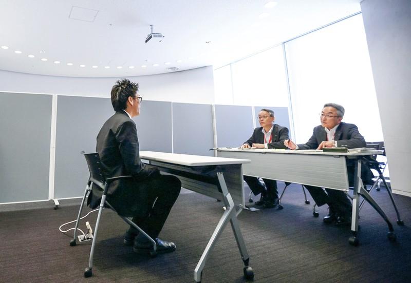 コロナ禍で自らのキャリアを見つめ直す人も多い (Bloomberg)