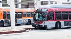 公共交通の利用者数はコロナ禍で激減した 筆者撮影