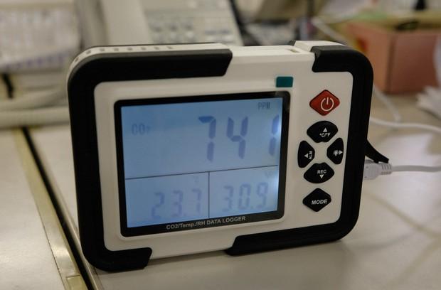 器 測定 二酸化 炭素