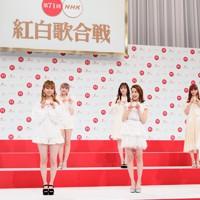 第71回NHK紅白歌合戦の初出場が決まったNiziUのメンバー=東京都渋谷区で2020年11月16日午後0時24分、吉田航太撮影