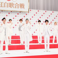 第71回NHK紅白歌合戦の初出場が決まったSnow Manのメンバー=東京都渋谷区で2020年11月16日午後0時13分、吉田航太撮影
