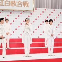 第71回NHK紅白歌合戦の初出場が決まったSnow Manのメンバー=東京都渋谷区で2020年11月16日午後0時11分、吉田航太撮影