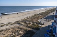 The beach and boardwalk are seen, on Nov. 13, 2020, in Rehoboth Beach, Del. President-elect Joe Biden owns a $2.7 million, Delaware North Shores home with a swimming pool that overlooks Cape Henlopen State Park, is blocks from the ocean and a short drive from downtown Rehoboth Beach. (AP Photo/Alex Brandon)