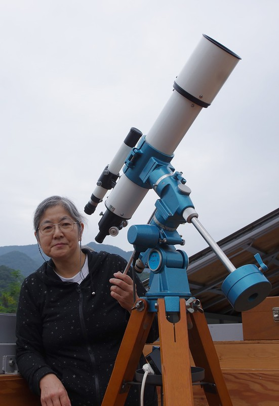 「月と地球の存在を体感できる日食は最高の天体ショー」=自宅観測ルームで