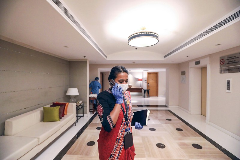 インドでも巣ごもり消費が伸び、スマホがよく売れた (Bloomberg)
