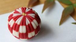 日本の伝統文様を和菓子で表現した創作和菓子店・手毬の「市松手毬」
