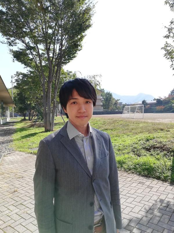 長野県小布施町の行政を担う林志洋さん(筆者撮影)