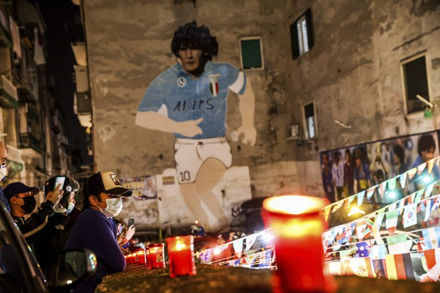 For Napoli fans, Maradona's legend will always live on - The Mainichi