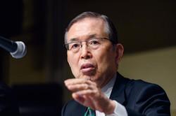 買収でメガサプライヤーに名乗りか(日本電産の永守重信会長) (Bloomberg)