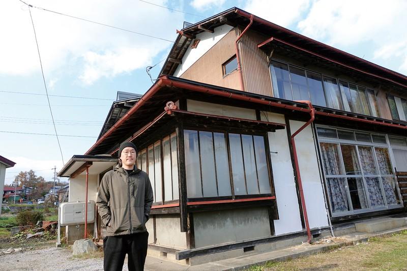 長野県信濃町の一軒家を買った観音クリエイションさん 本人提供