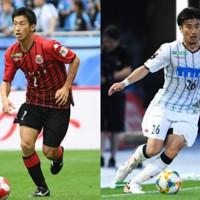 石川直樹(左)と早坂良太(右)が今季限りで引退(写真はともに2019年) [写真]=Getty Images