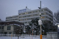 Yoshida Hospital in Asahikawa, Hokkaido, where the prefecture's biggest coronavirus cluster infection has taken place, is seen in this photo taken on Dec. 1, 2020. (Mainichi/Hiroto Watanabe)