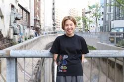 西野彩紀さん=佐々木めばえさん撮影
