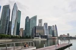 富裕層の海外資産運用拠点の一つシンガポールもCRSの対象だ(Bloomberg)