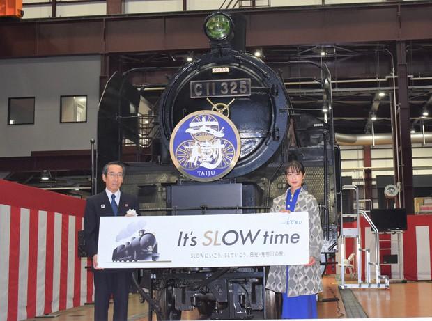 東武鉄道がSLの火入れ式 門脇麦さんらが出席、鬼怒川線で26日から運行 ...