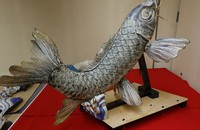 A sacred carp ornament from the