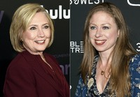Former U.S. Secretary of State Hillary Clinton attends the premiere of the Hulu documentary